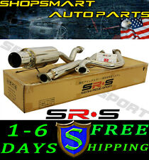 SRS TYPE-R1 CATBACK EXHAUST ACURA INTEGRA GS RS LS 94 95 96 97 98 99 00 01 2 DR