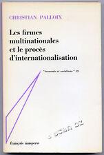 CHRISTIAN PALLOX, FIRMES MULTINATIONALES PROCÈS D'INTERNATIONALISATION