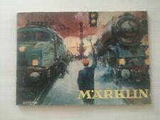Catalogue Marklin 1952 D52 Complet en FRANCAIS