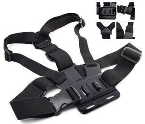 Für GoPro ActionCam Brustgurt Halterung Chest Mount BrG universell einsetzbar