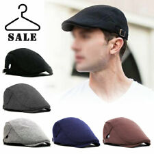Mens Baker Boy Hat Peaky Blinders Outdoor Gatsby Country Herringbone Flat Cap UK