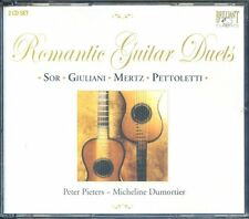 2CD Box Romantic Guitar Duets - Peter Pieters, Micheline Dumortier