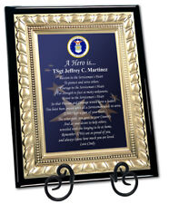 Military Gift Usaf Plaque Poem Retirement Discharge Away Homecoming Air Force