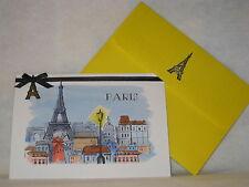 Burgoyne Handmade Greeting - Paris Blank Note Card - NEW