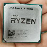 AMD Ryzen 5 PRO 2400GE 4Core 8Threads 3.2GHz DDR4 35W Socket AM4 CPU Processors