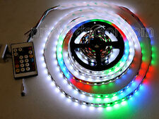 16ft Dream Color WS2811 RGB 100 pixel 300 LED strip light w controller 12v video