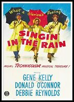 Singin' In The Rain 5  Movie Posters Musicals Classic & Vintage Films