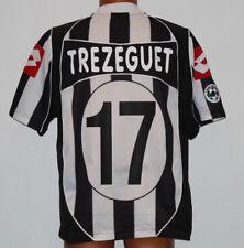 maglia juventus Lotto shirt 2002 2003 Trezeguet #17 jersey Fastweb XL mint