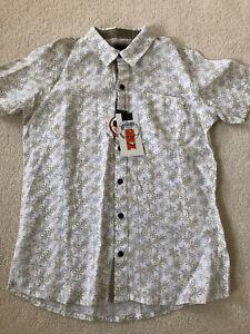 BNWT Zed Christmas Linen Shirt - 12-13Years