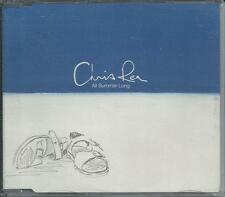 CHRIS REA - All summer long PROMO CD SINGLE 2TR Euro House 2000 UK