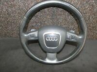 Audi A6 4F A8 4E Multifunktionslenkrad 3 Speichen F1 Schaltwippen 4F0419091AQ iR