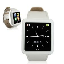 U10L Bluetooth Smart Watch Wrist Sport Watch Phone Mate for Android & IOS White