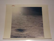 """Apollo 14 Lunar Module Sun Glare 8x10 Red Serial # """"A Kodak Paper"""" NASA Photo"""