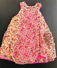 OILILY Kid Baby Toddler Girls Sleeveless Laces Designer Dress 24 mos Pink Floral