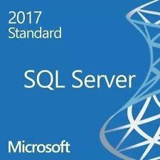 licencia Microsoft window Sql Server 2017 Standard 1 PC