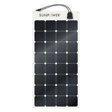 SUNPOWER SPR-E-Flex 110W 12V Semi-Flexible Solar Panel for RV's, boats