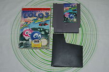 Adventures of lolo 3 Nintendo Nes pal A ita GIG