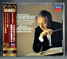 Andre PREVIN VPO R.STRAUSS: Metamorphosen, Etc. JAPAN SHM - CD NEW UCCD-9902