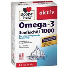Doppelherz Omega-3 Sea Fish Oil 1000 DPA DHA (40 day supply )-FREE US SHIPPING