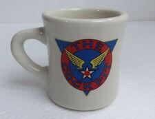 The Cockpit Coffee Mug for a Pilot Ceramic Vintage Mil-Art Retro Porcelain Gloss