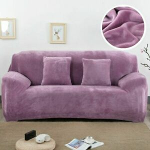 Velvet Plush Thicken Sofa Cover All-inclusive Elastic Couch Cover Living Room