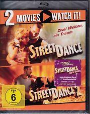StreetDance 1 & 2 - 2 Movies (Blu-ray, NEU! OVP)