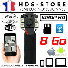 MODULE CAMERA ESPION IP WIFI FULL HD 1080P + MICRO SD 8 GO INFRAROUGE DÉTECTION