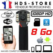 Module Spy Camera IP Wifi Full HD 1080P+ Micro SD 8gb Infrared Detection