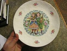 """Royal Doulton Valentine's Day Collector Plate 1981 - 8-3/8"""" - no box - Ludlot"""