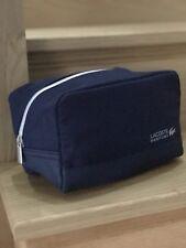 LACOSTE DESIGNER TOILETRY BAG Wash bag TRAVEL HOLIDAY FOR MEN New🆕