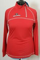 NEW Georgia Bulldogs Red Columbia Omni-Wick Classic Pullover Jacket Women's XL