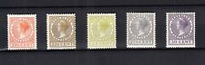 Nederland 190 - 194 Veth 1926 postfris met de originele gom