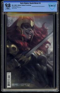 Dark Nights Death Metal (2020) #5 Artgerm Variant CBCS 9.8 Blue Label White Pgs