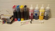SUBLIMATION INK  CISS WITH INK REFILLS FOR HP 950 950XL 951 951XL 8100 8600
