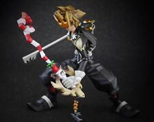 Authentic PlayArts Kai Kingdom Hearts Halloween Town Sora Action Figure(no box)