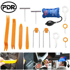 13pcs Car Audio Stereo Panel Removal Pry Open Tools Dash Door Trim + Pump Wedge