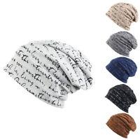 Men's Women's Fashion Hip-Hop Winter Cotton Letter Ski Beanie Skull Cap Hat Hot