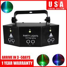 Laser LED Light Remote 9-EYE RGB DMX Scan Projector Strobe DJ KTV Stage Lights