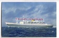 LS00516 - Holland America Liner - Statendam - postcard