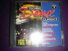RARE CD-TECHNO DANCE CLASSICS - FEEL THE BEAT VOL. II Priority Records
