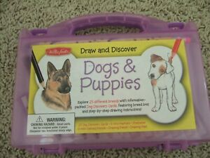 NEW Kids Learn to Draw Dogs Drawing Kit Step By Step Instructions Walter Foster