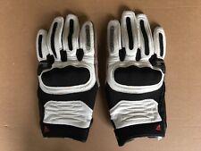 Dainese gants été de moto en cuir blanc et noir taille xl