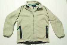 Vintage Patagonia Synchilla Fleece Jacket M USA Full Zip Cream with Teal Grey