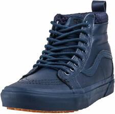 New Vans SK8-Hi MTE, US Men's Size 10, Blue Dress Mono Leather, All Weather