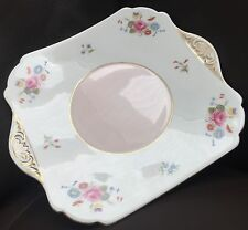 "Antique Art Deco Gold Gilded Shelley English Bone China ""Dainty Shape"" Platter"