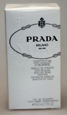 PRADA infusione D 'HOMME 50ml Eau de Toilette Spray Nuovo In Pellicola