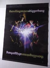 "XX ROLLING STONES A bigger bang promo poster POSTERpromo record co-18 x 24""@"