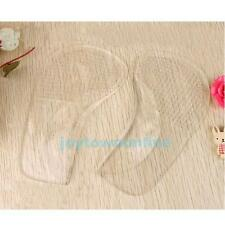 1 Pair Gel Flat Feet Orthotic Arch Support Pads Clear Non-Slip Shoes Insoles