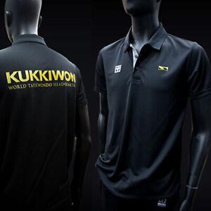 MOOTO KUKKIWON Cool Ceramics PK T-Shirts Martial Arts Polo White/Black/Navy/Red