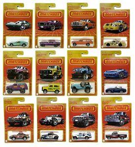 Matchbox 2020 &2021 Retro Series Target Exclusive - Choose Your Cars Trucks